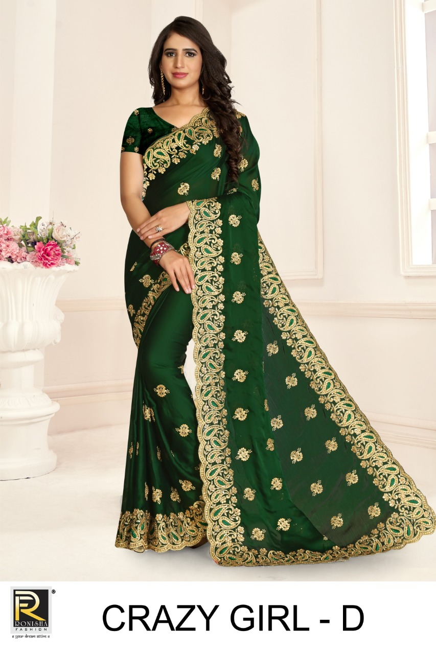 Ronisha Crazy Girl Designer Embroidery collection 6