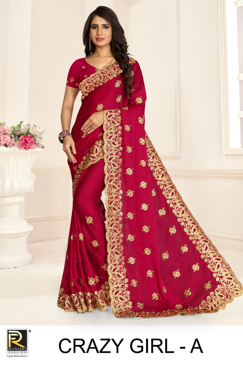 Ronisha Crazy Girl Designer Embroidery collection 4