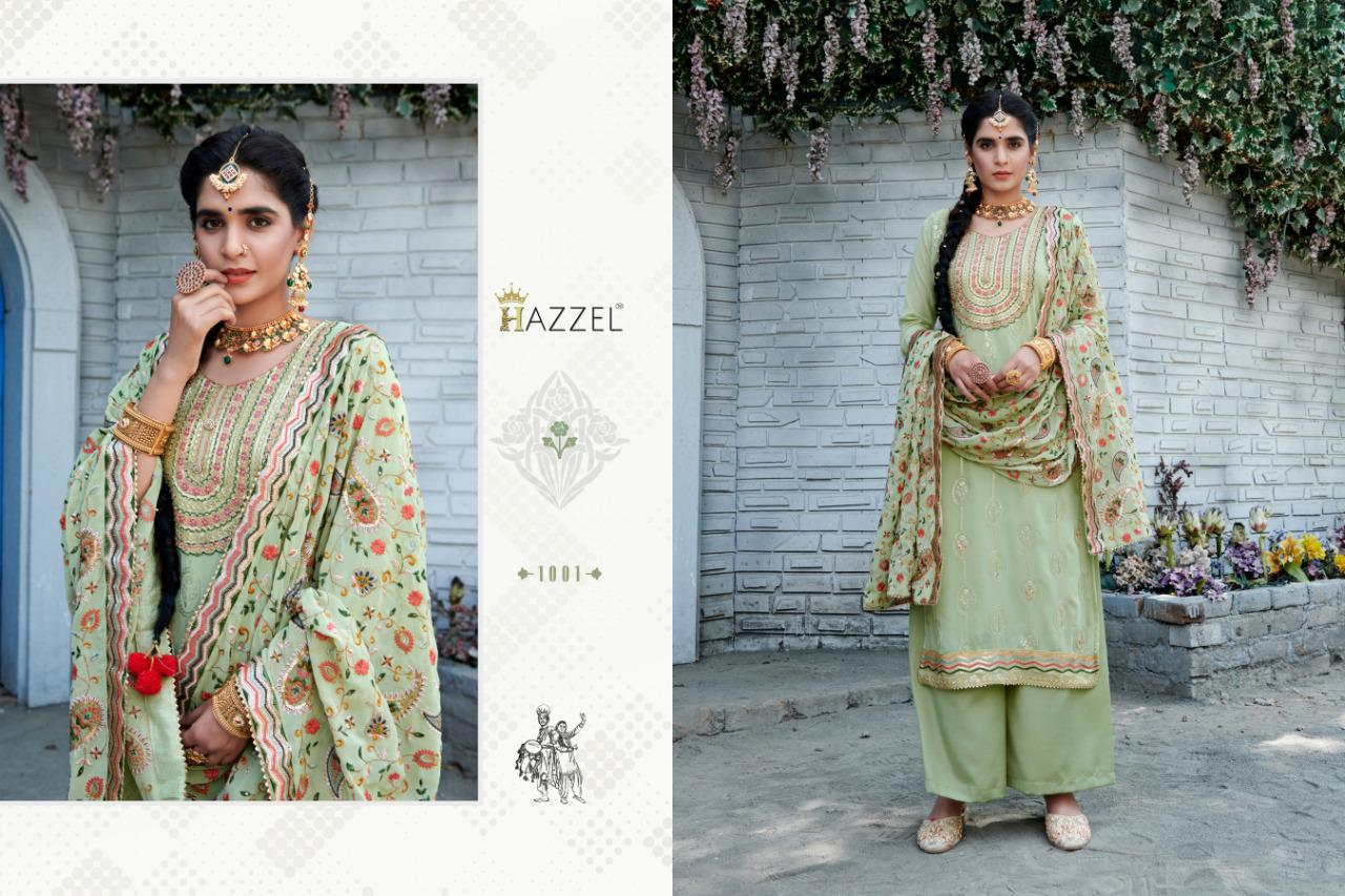 Hazzel Laungi Laanchi Fancy Embroidery collection 4