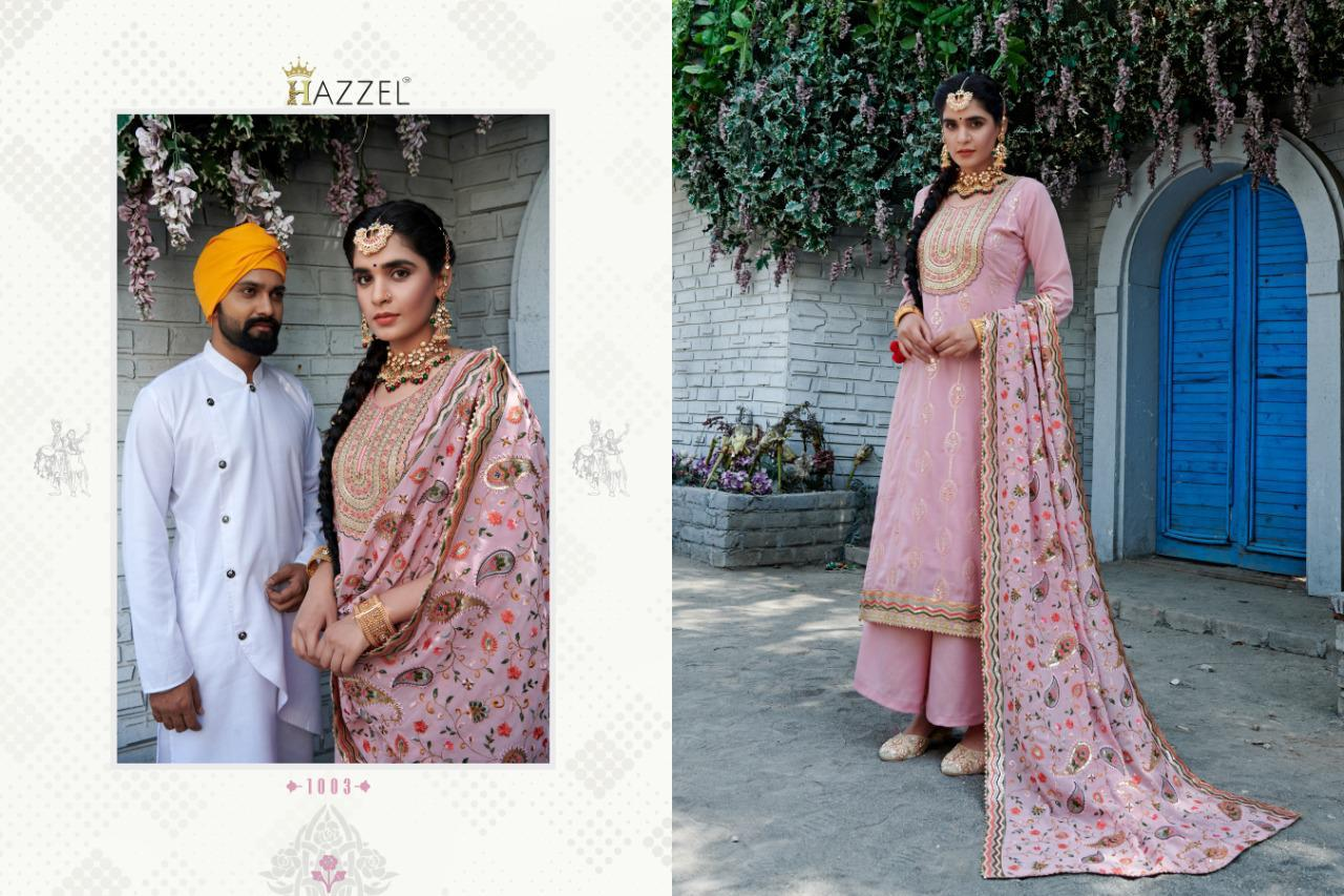 Hazzel Laungi Laanchi Fancy Embroidery collection 1
