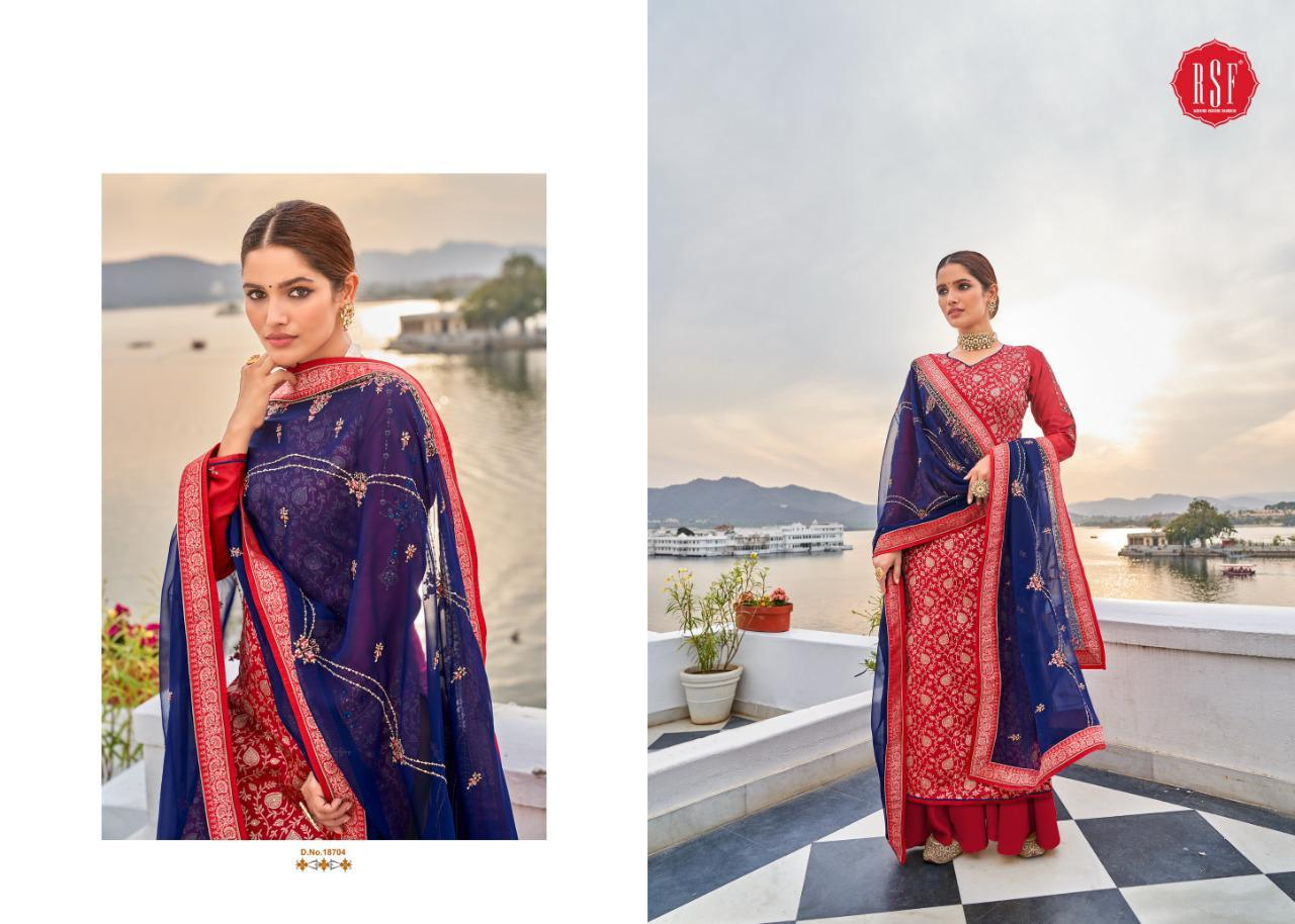 Rsf Swag 6 Pure Silk Jacquard collection 6