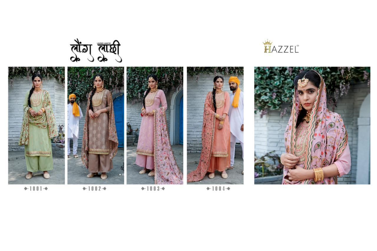 Hazzel Laungi Laanchi Fancy Embroidery collection 7