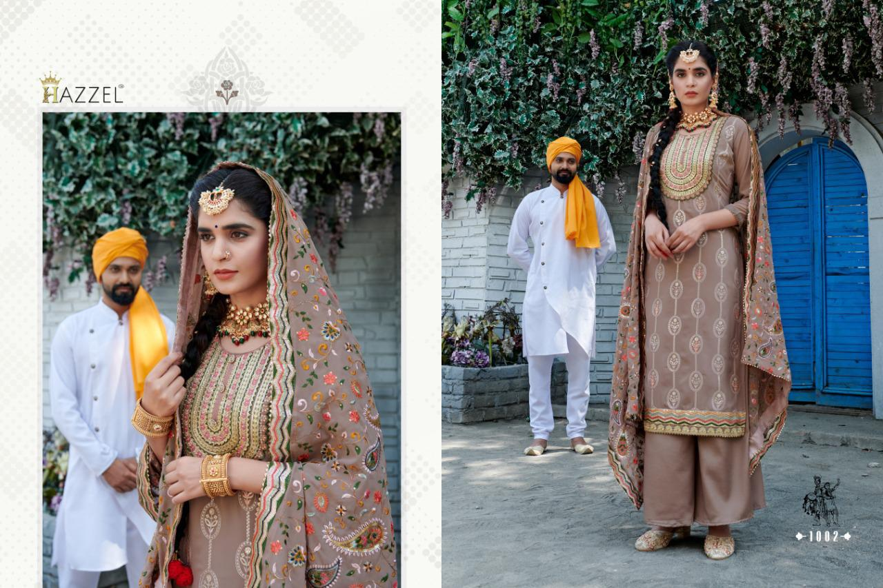 Hazzel Laungi Laanchi Fancy Embroidery collection 5
