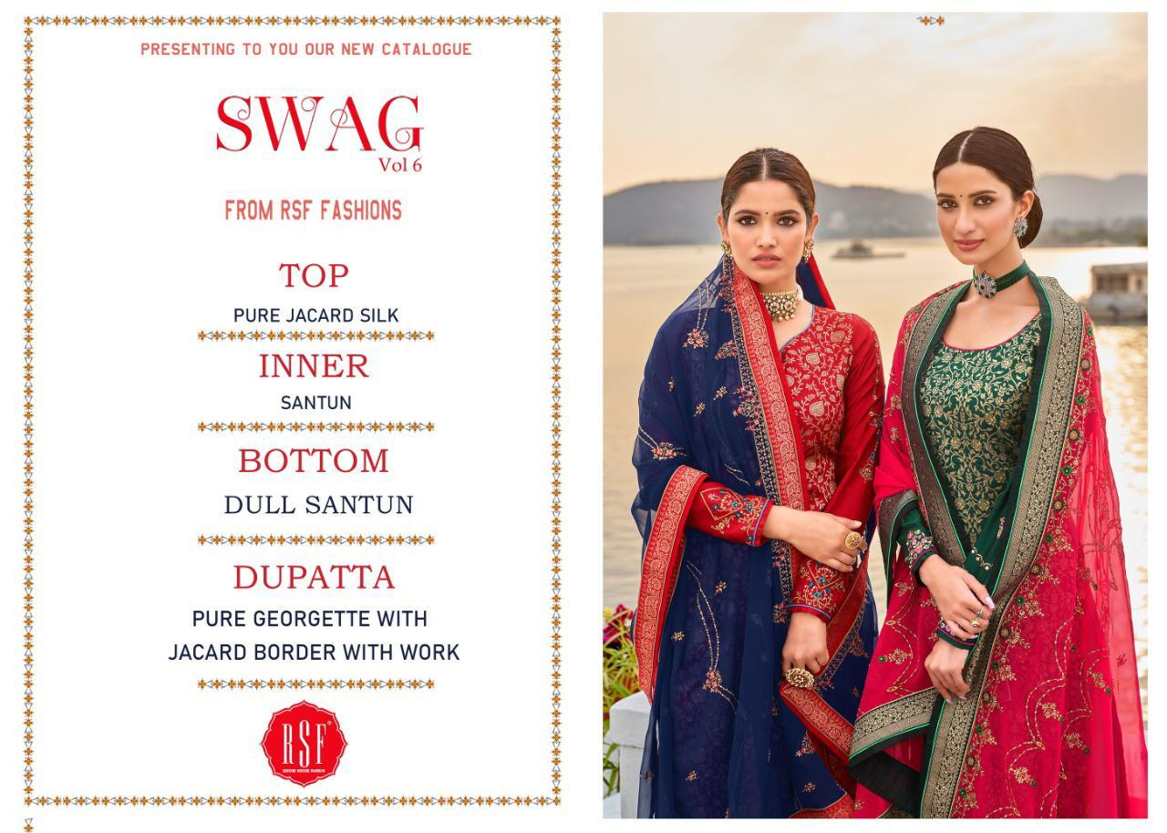 Rsf Swag 6 Pure Silk Jacquard collection 2