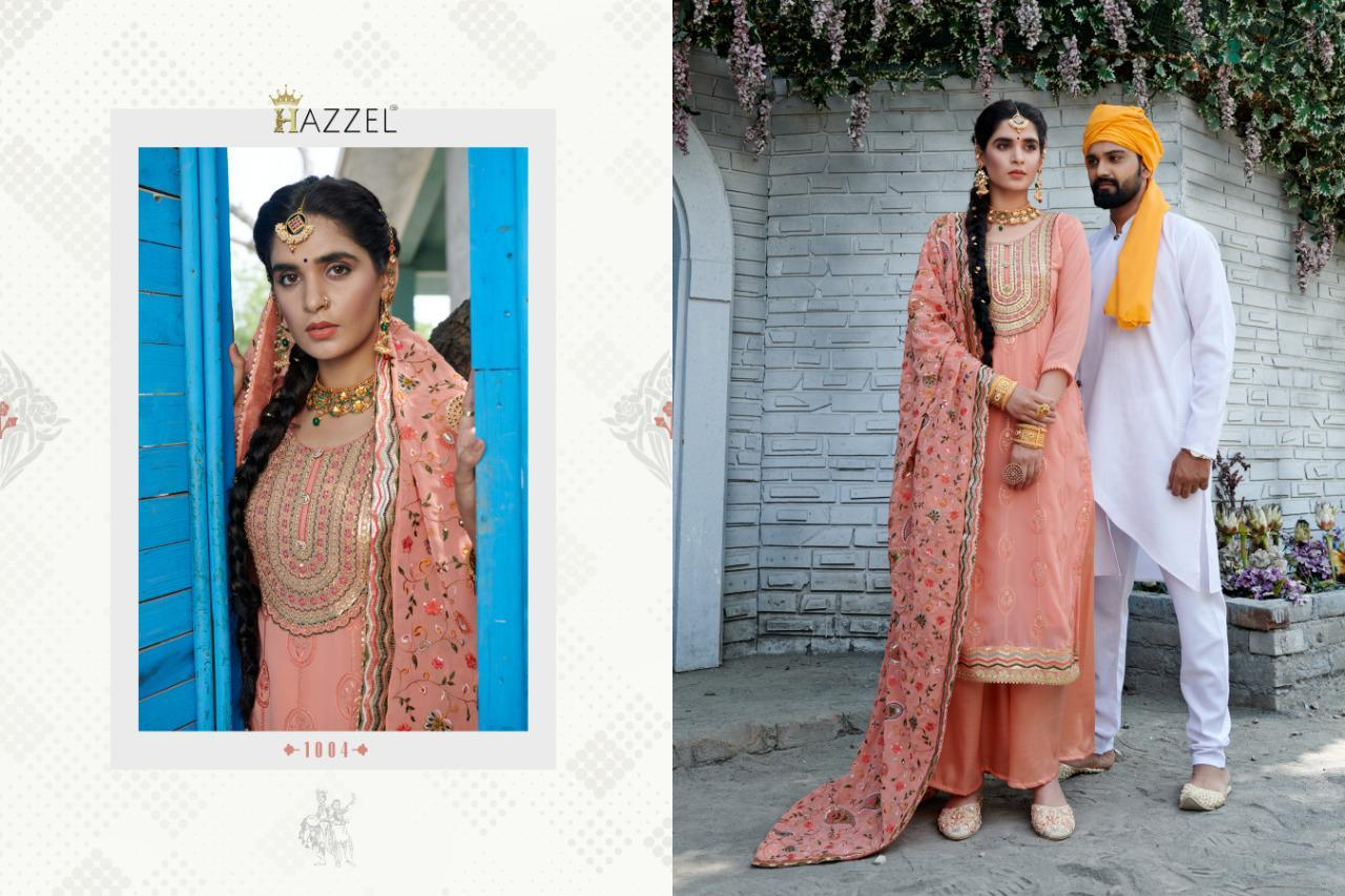 Hazzel Laungi Laanchi Fancy Embroidery collection 2