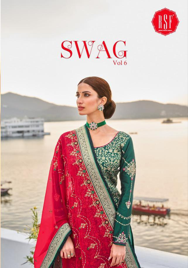 Rsf Swag 6 Pure Silk Jacquard collection 9