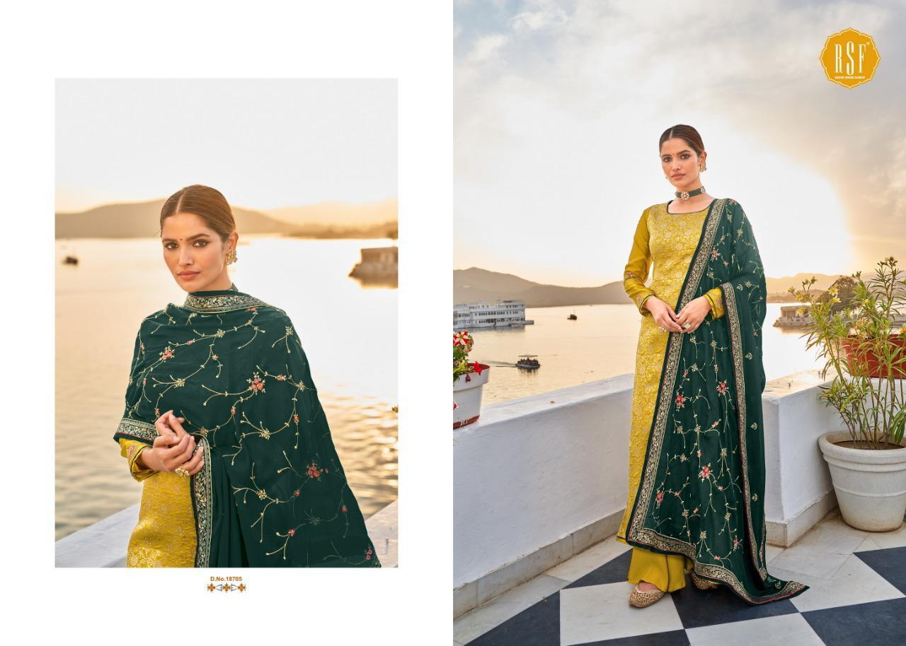 Rsf Swag 6 Pure Silk Jacquard collection 4