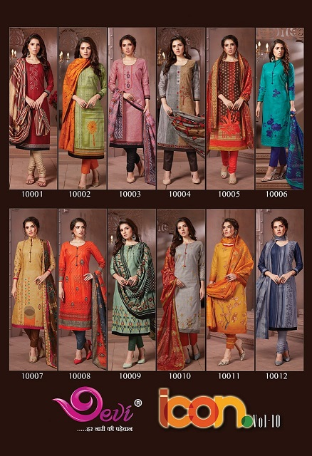 Devi Icon 10 Casual Wear Printed collection 4