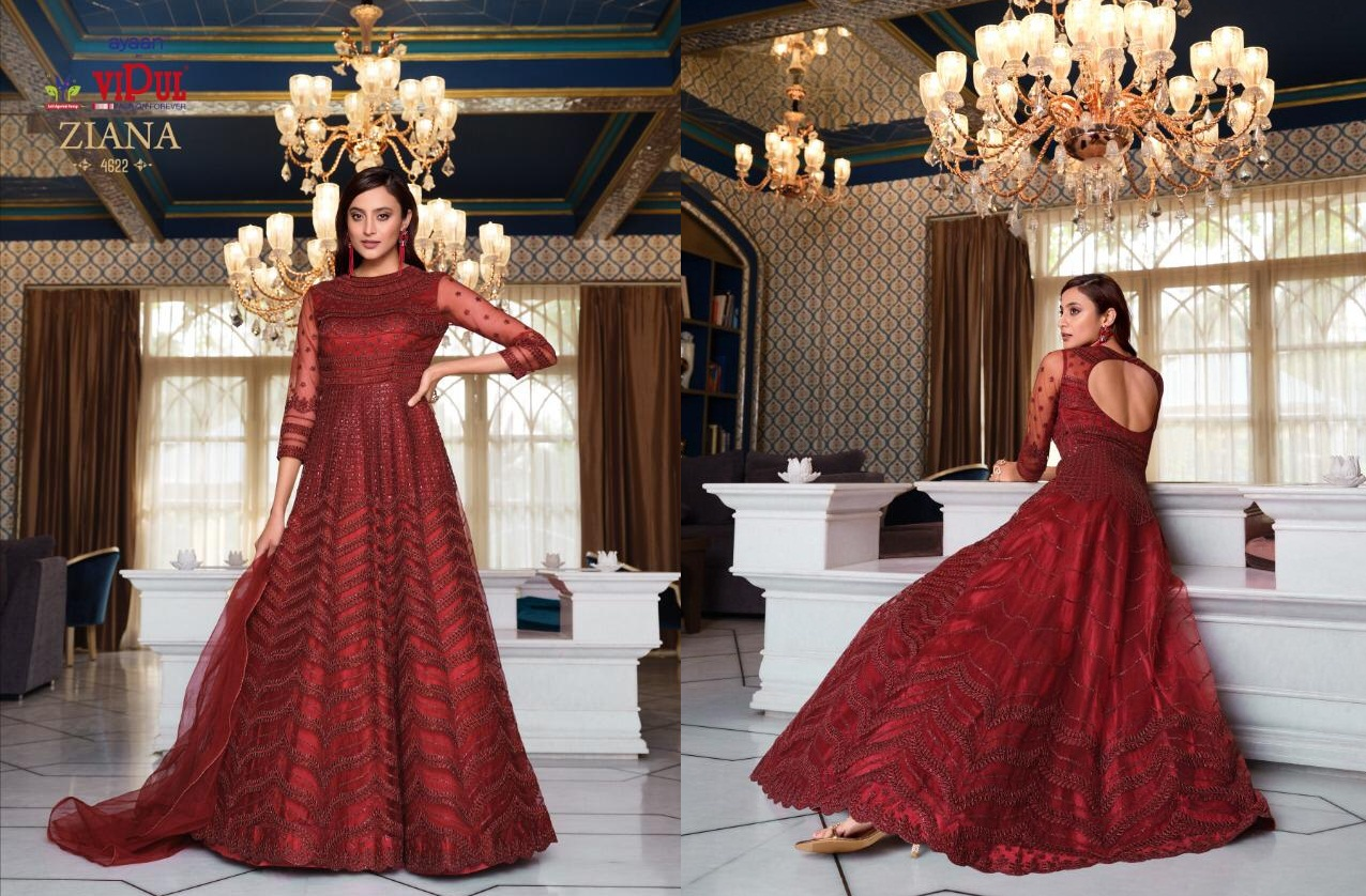 Vipul Ziana 4621 Series Heavy Wedding collection 5