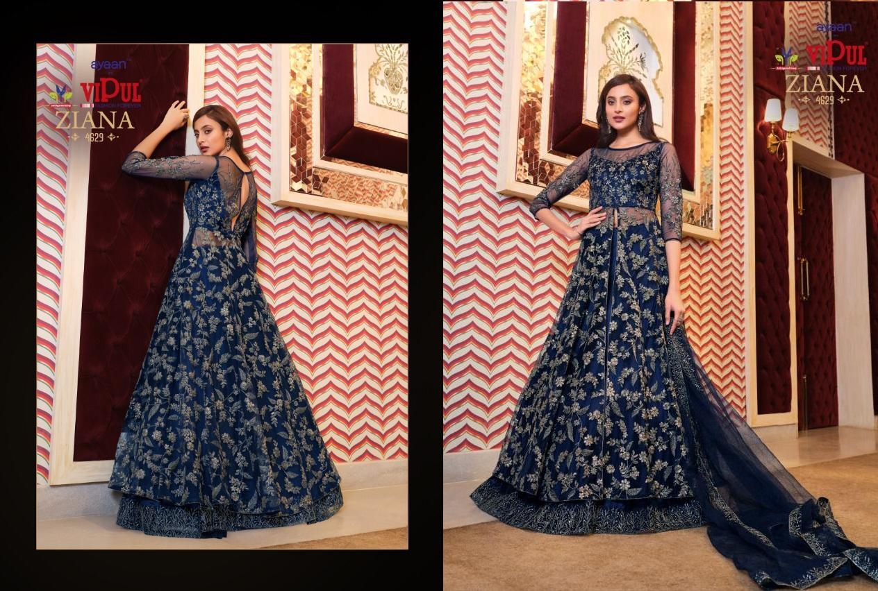 Vipul Ziana 4621 Series Heavy Wedding collection 12