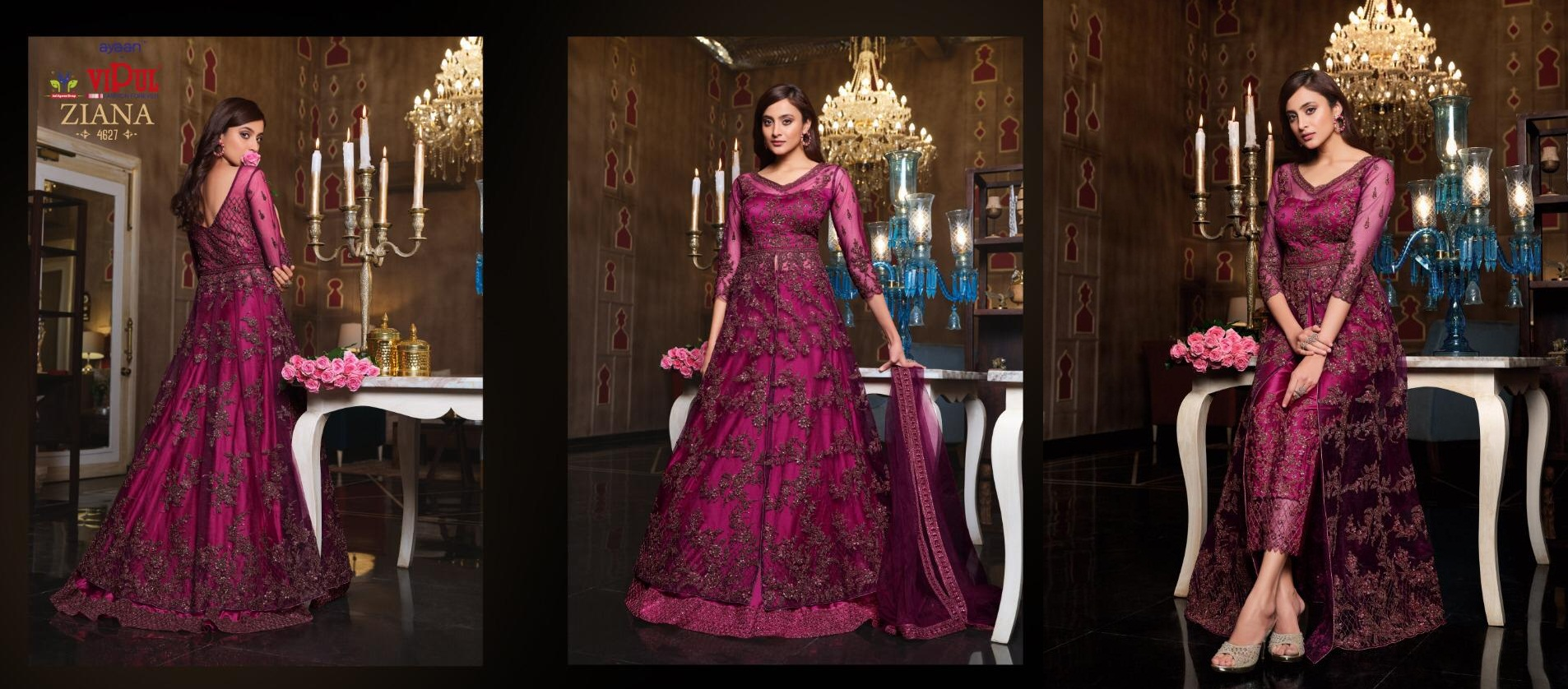Vipul Ziana 4621 Series Heavy Wedding collection 11