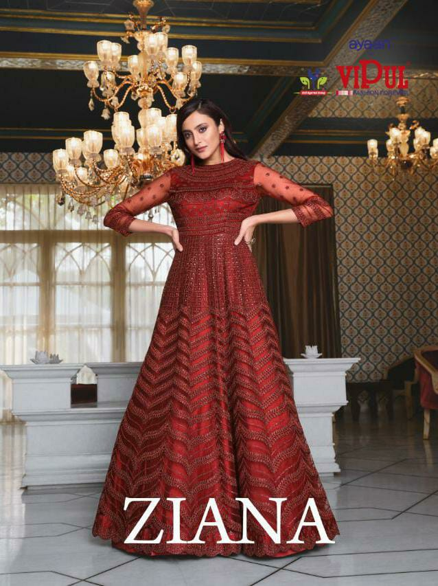 Vipul Ziana 4621 Series Heavy Wedding collection 3