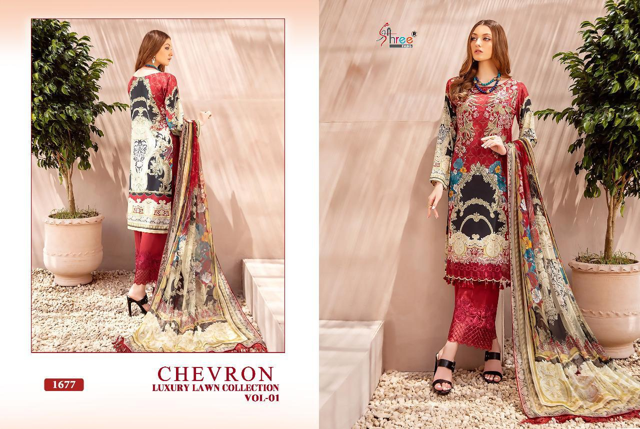 Shree Chevron Luxury Lawn Collection 1 collection 7
