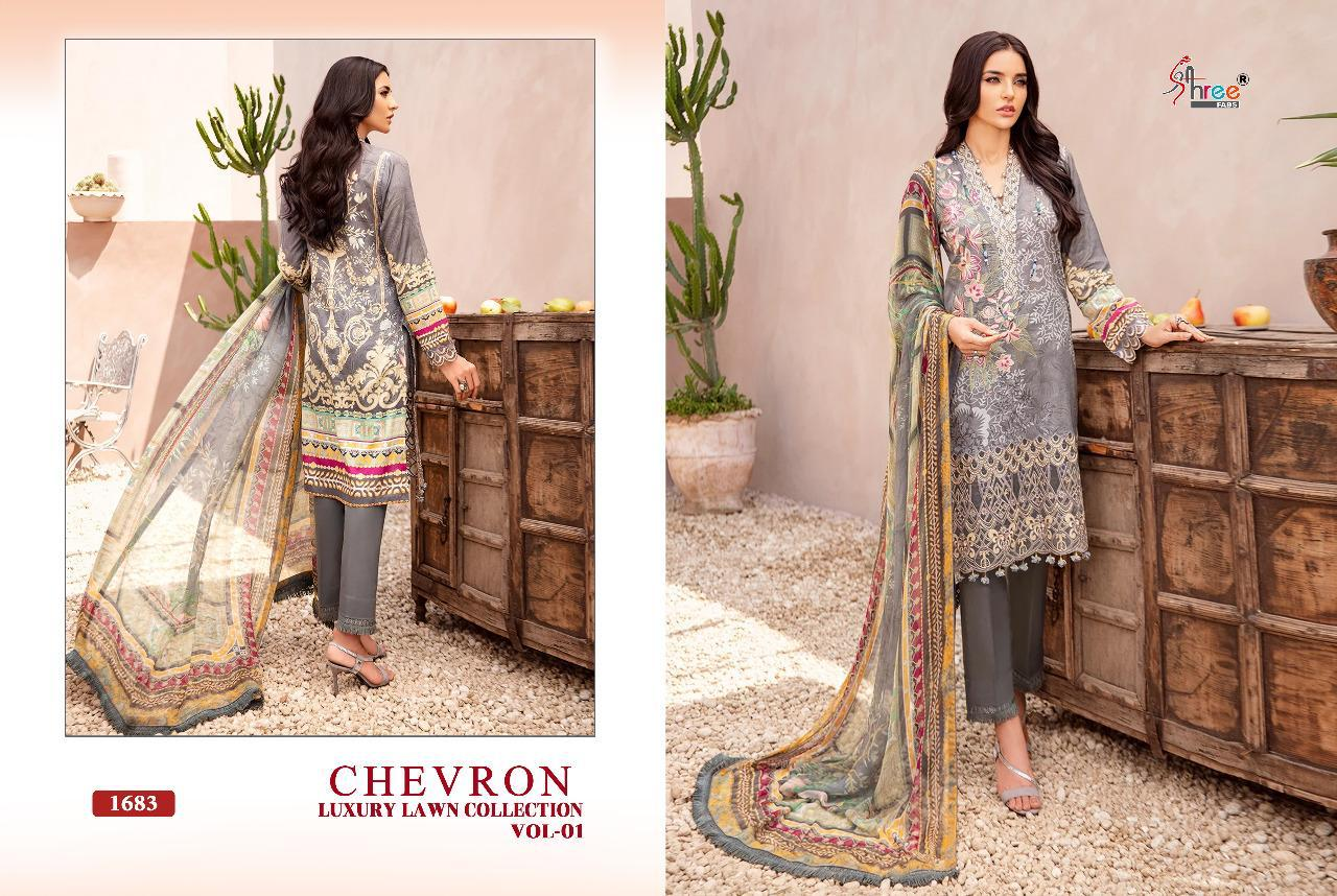 Shree Chevron Luxury Lawn Collection 1 collection 10