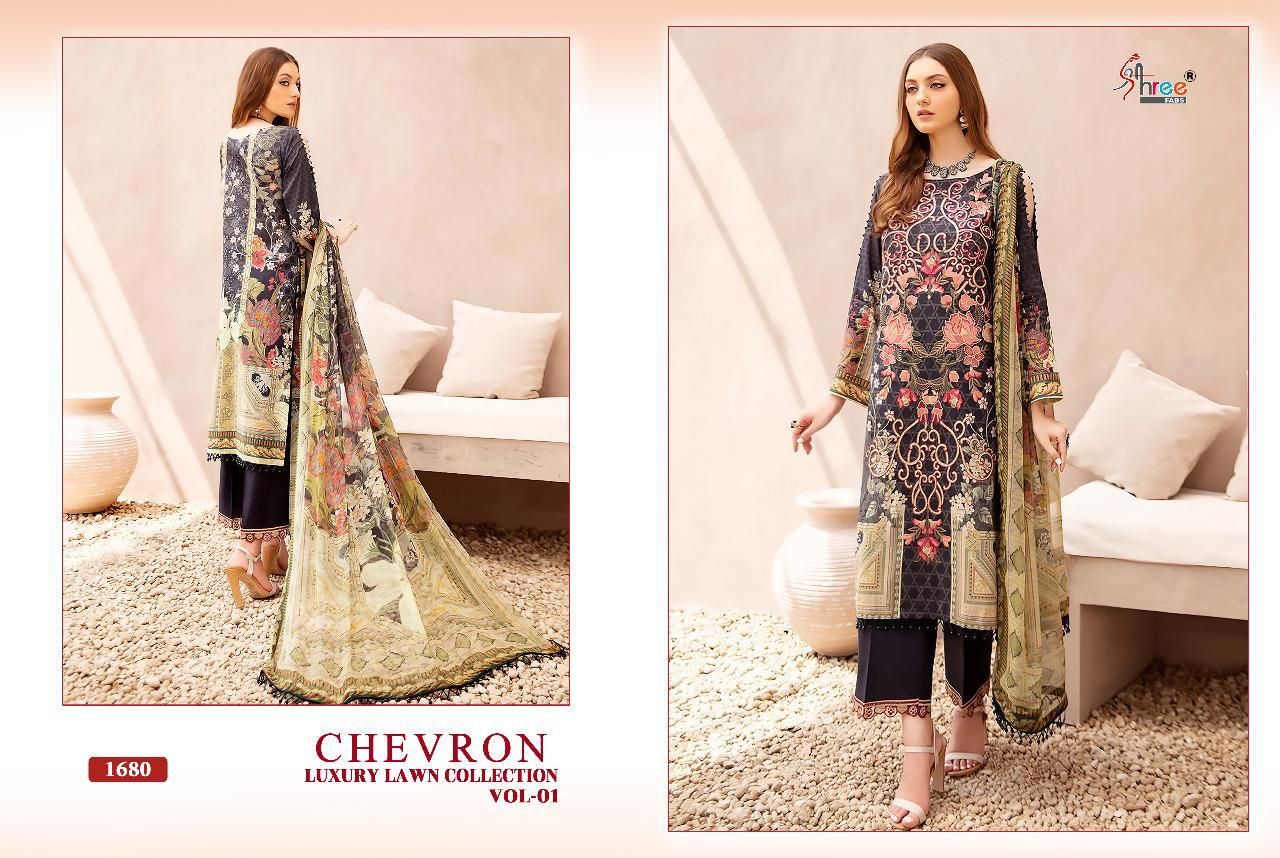 Shree Chevron Luxury Lawn Collection 1 collection 5