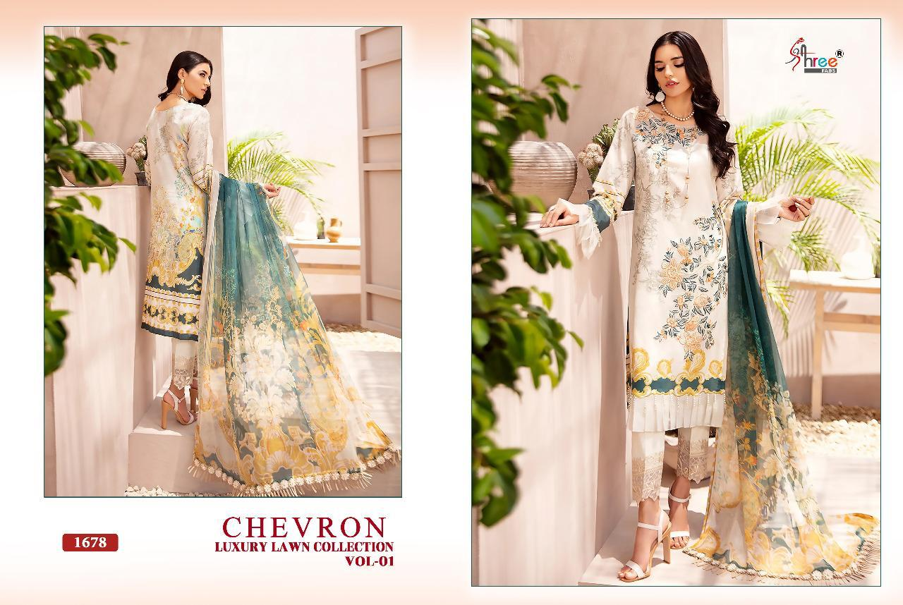 Shree Chevron Luxury Lawn Collection 1 collection 8