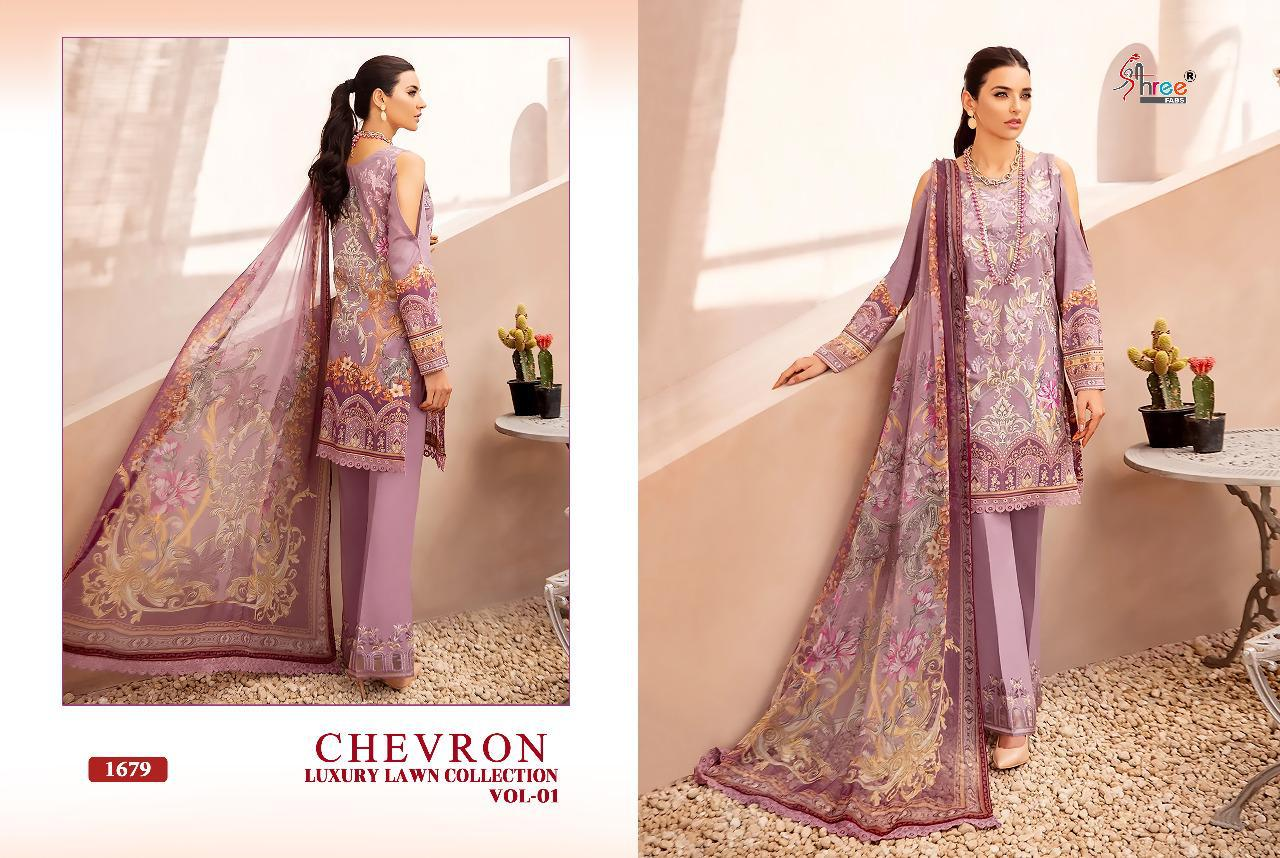 Shree Chevron Luxury Lawn Collection 1 collection 9