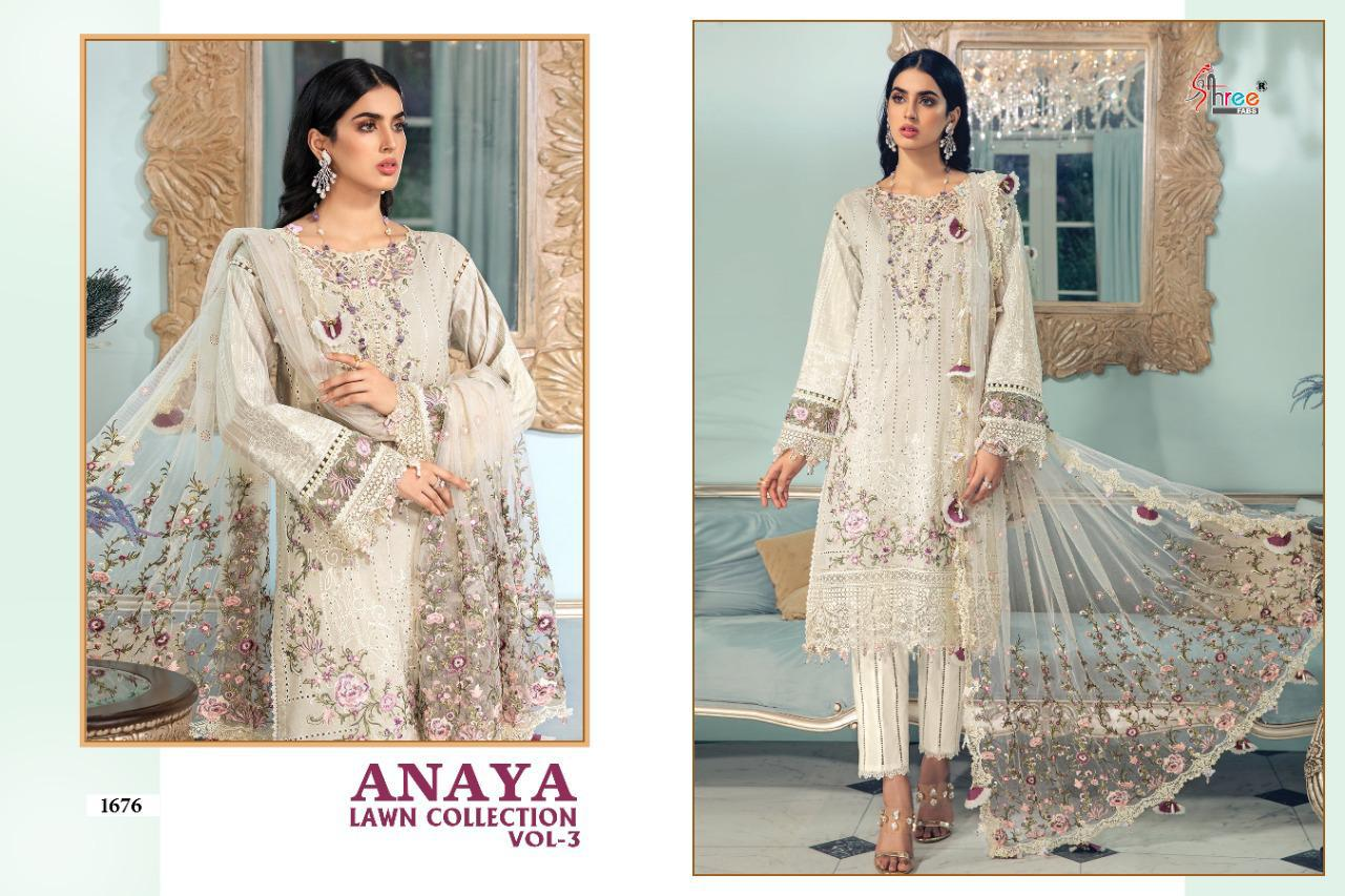 Shree Anaya Lawn Collection 3 collection 1