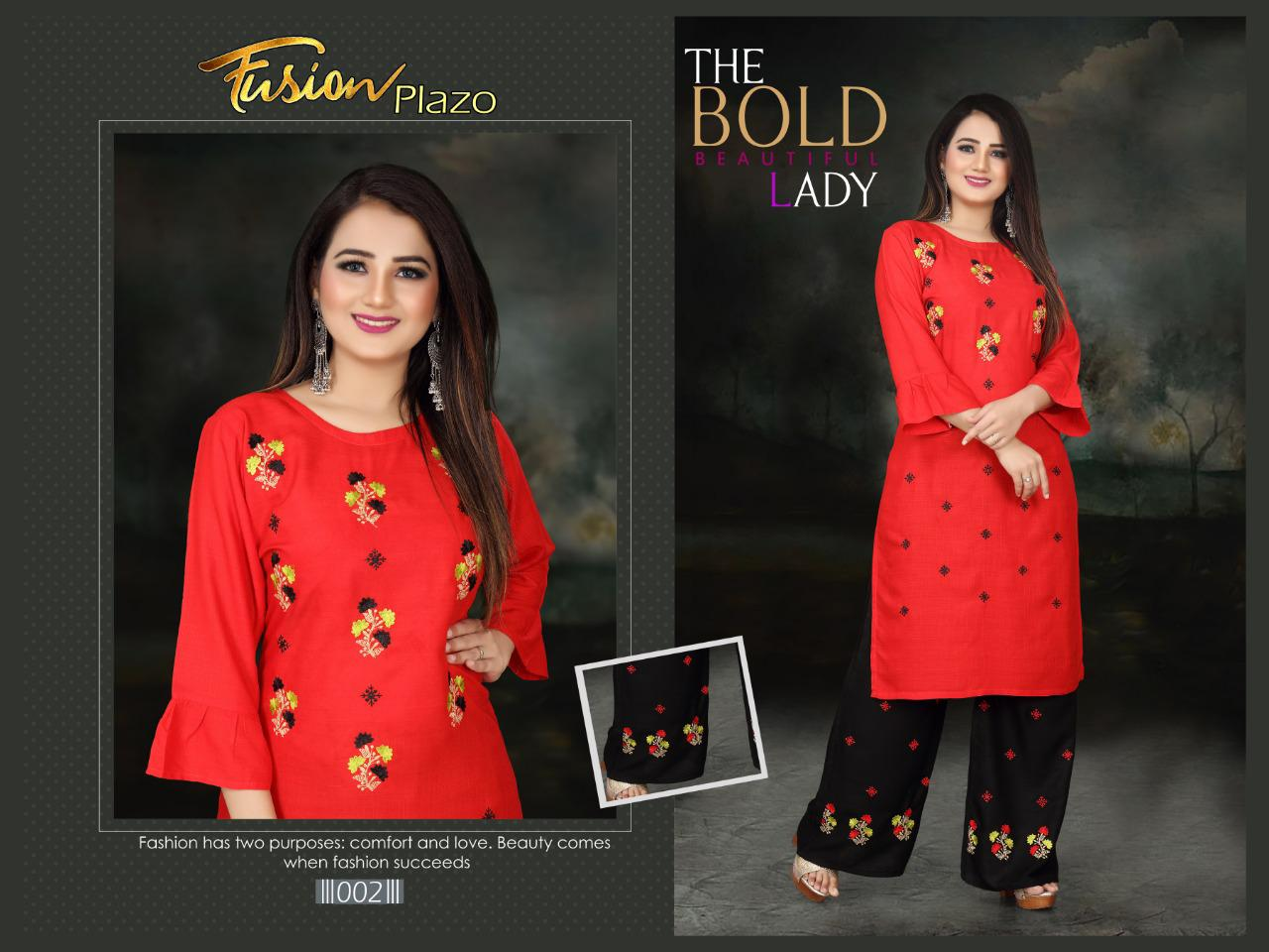 Aagya Fusion Plazzo Fancy Casual Wear collection 7