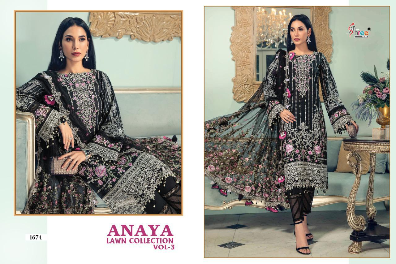 Shree Anaya Lawn Collection 3 collection 7