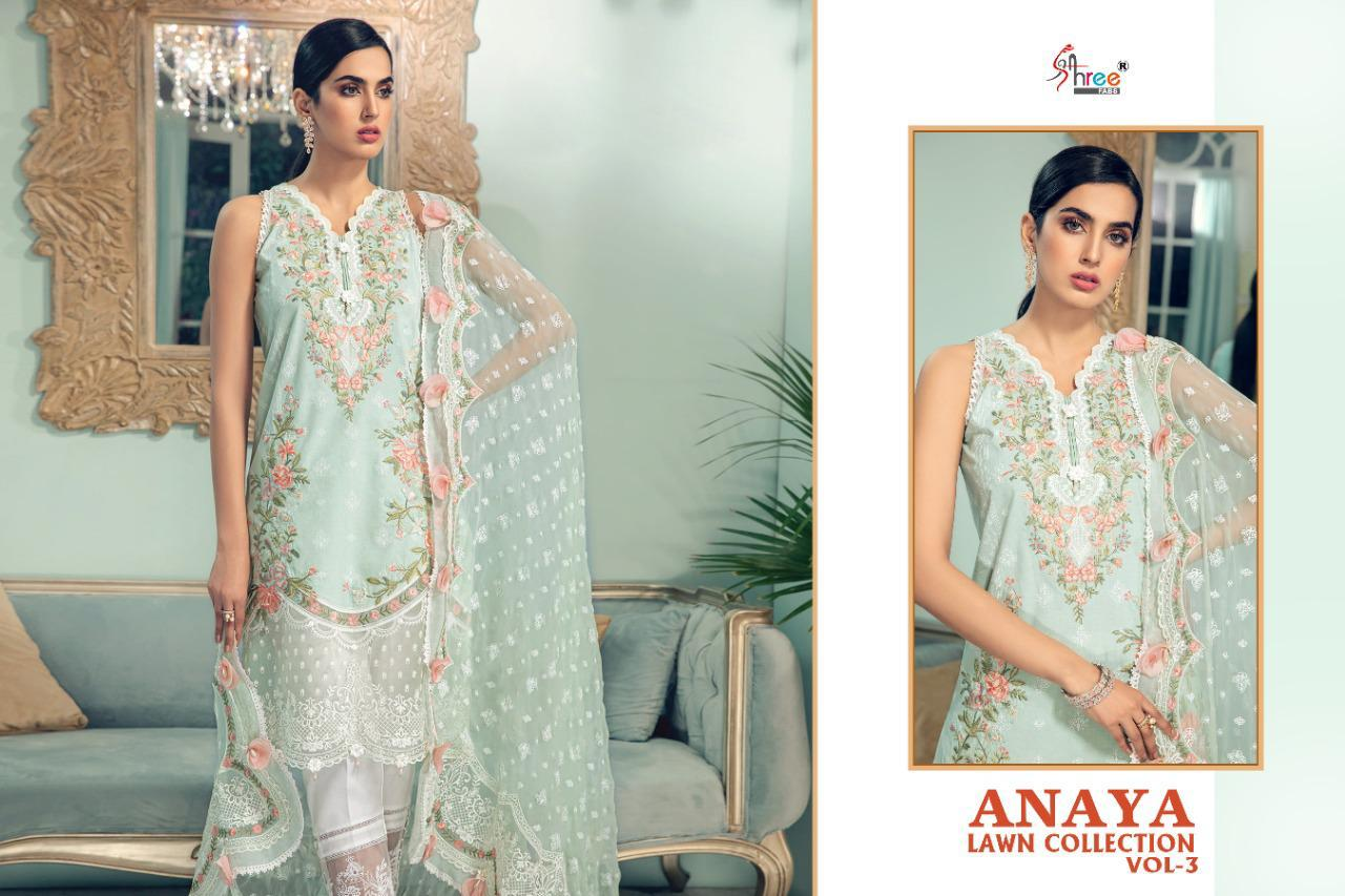Shree Anaya Lawn Collection 3 collection 2
