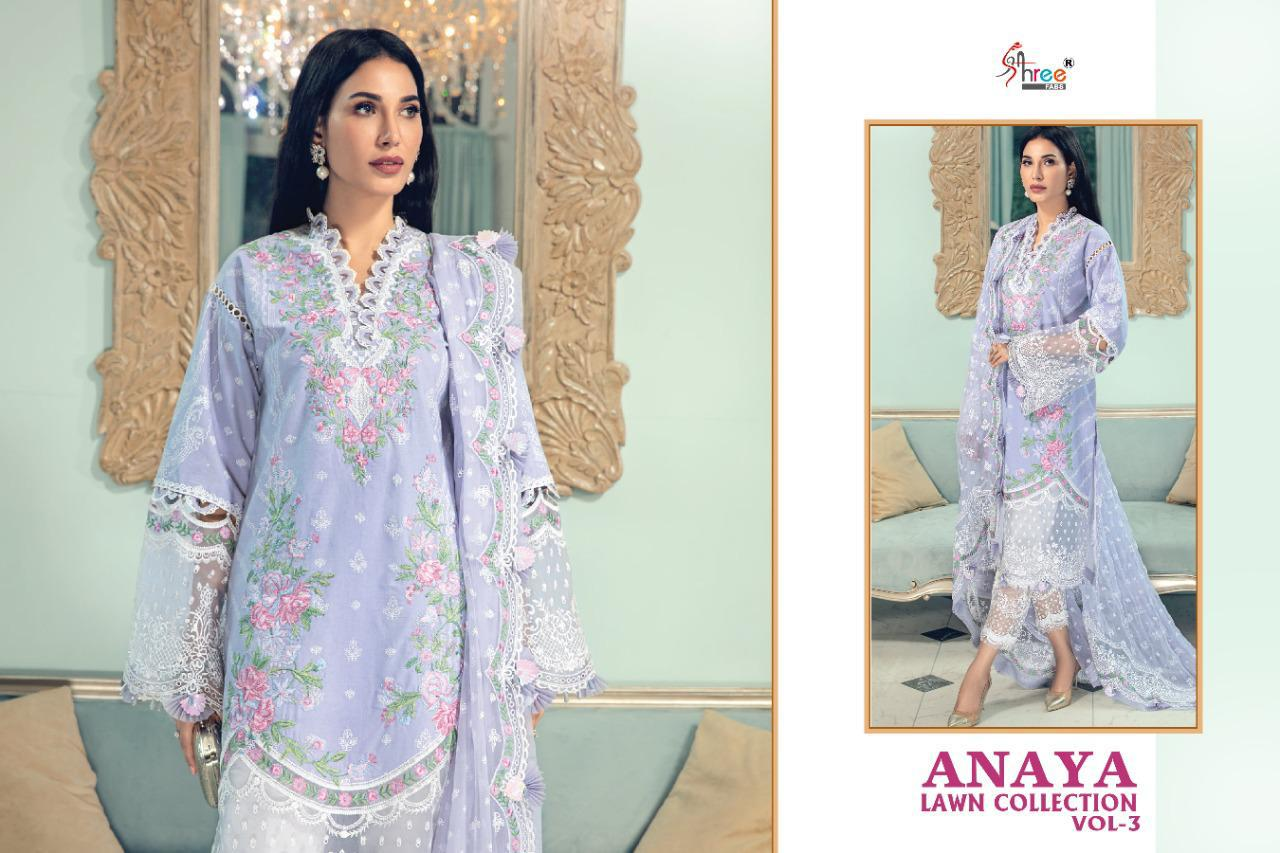 Shree Anaya Lawn Collection 3 collection 5