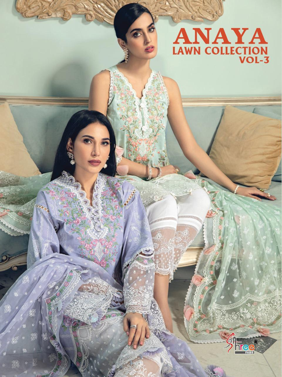 Shree Anaya Lawn Collection 3 collection 4