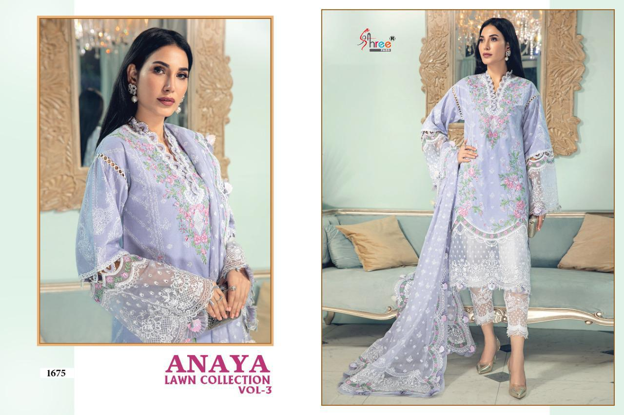 Shree Anaya Lawn Collection 3 collection 3