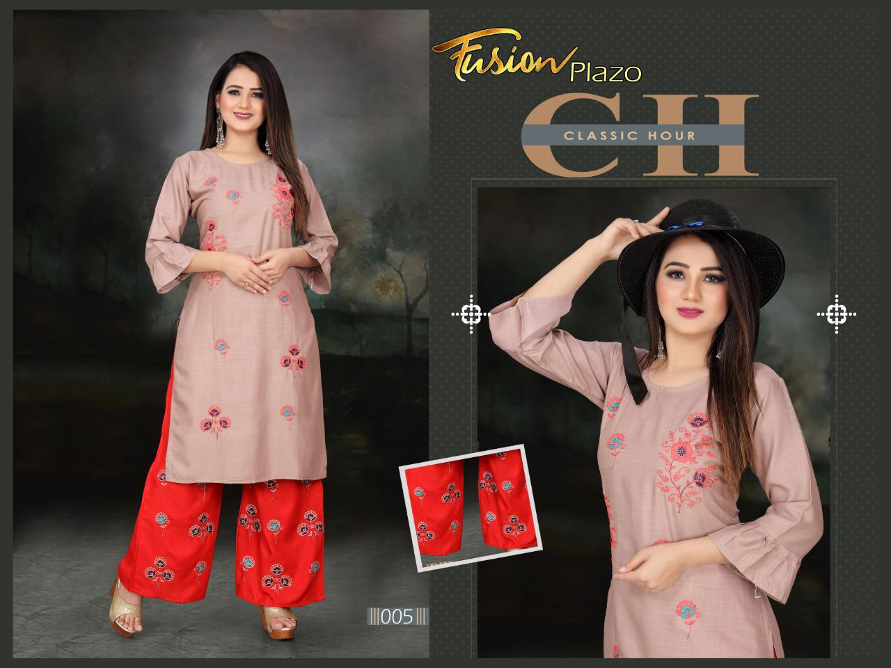 Aagya Fusion Plazzo Fancy Casual Wear collection 6
