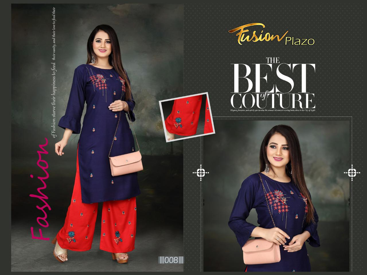 Aagya Fusion Plazzo Fancy Casual Wear collection 5