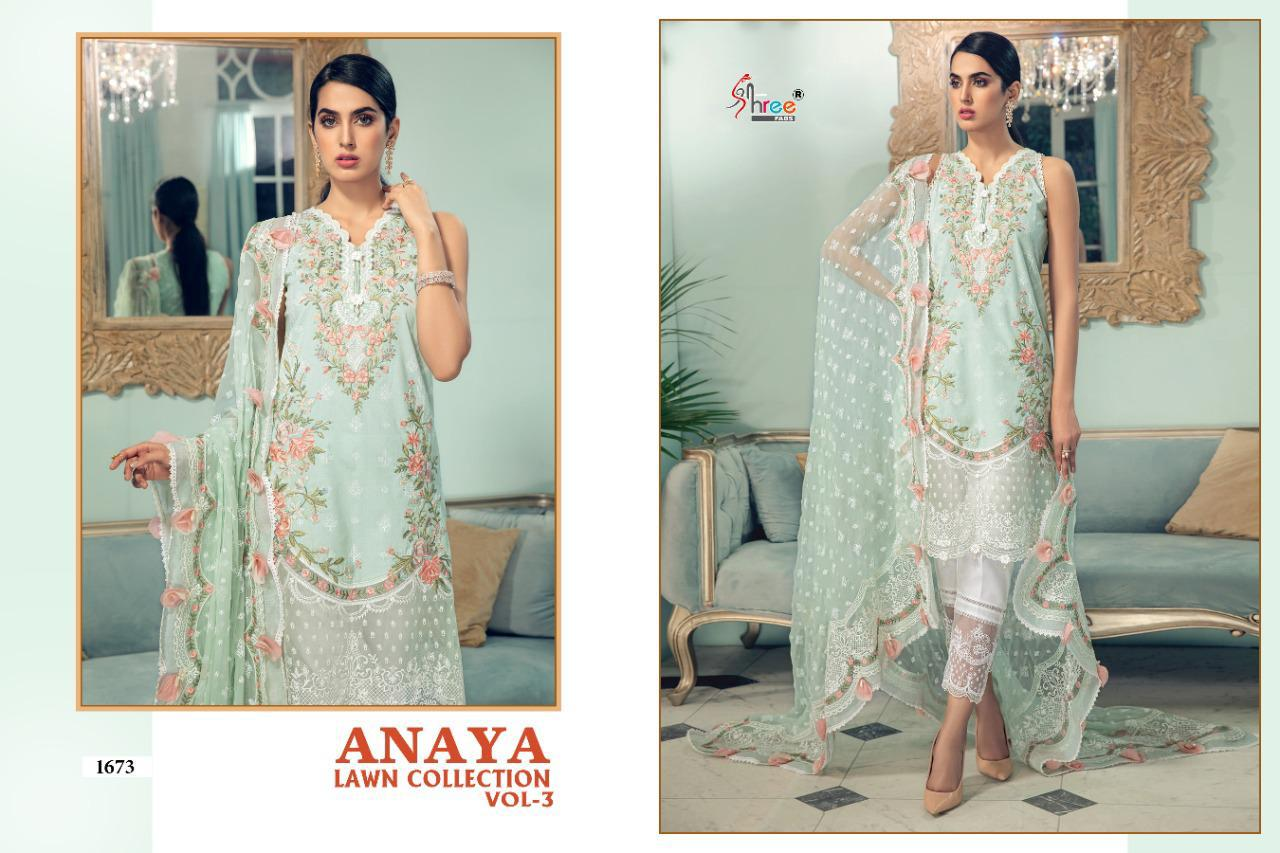 Shree Anaya Lawn Collection 3 collection 8