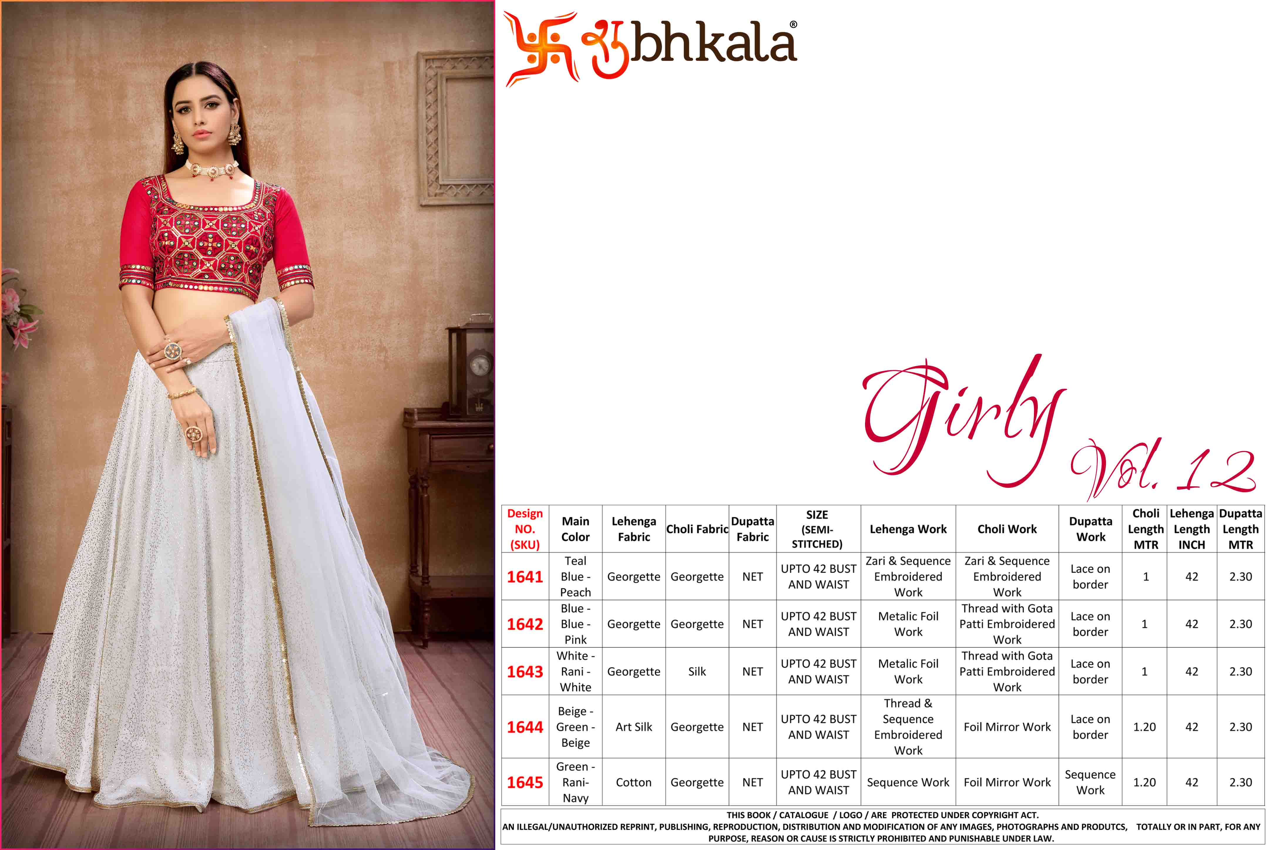 Kf Girly 12 Wedding Wear collection 1