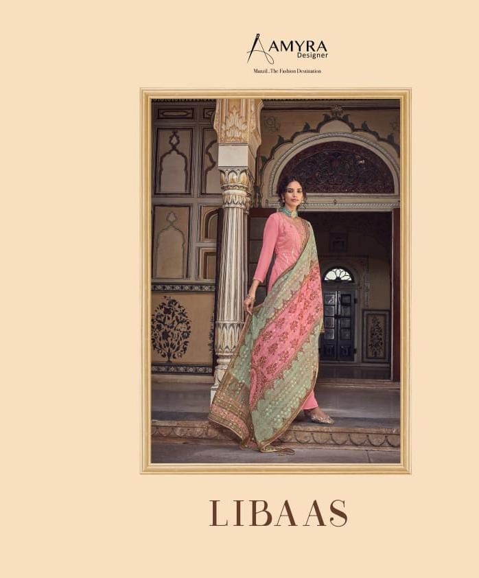 Amyra Designer Libaas Real Georgette collection 2