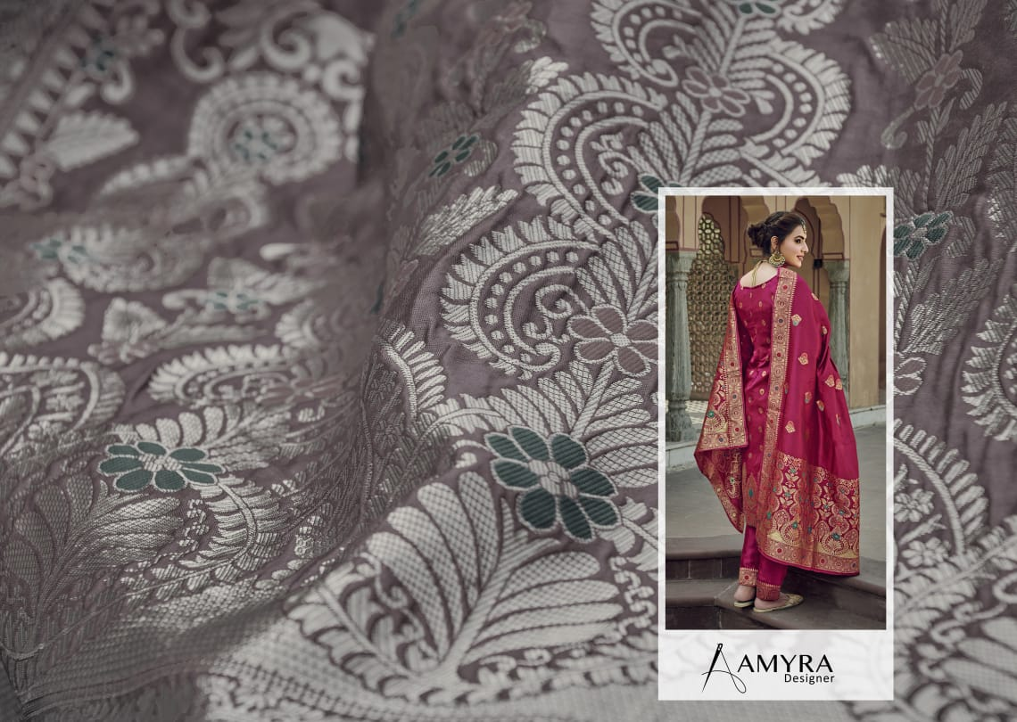 Amyra Designer Libaas Real Georgette collection 4