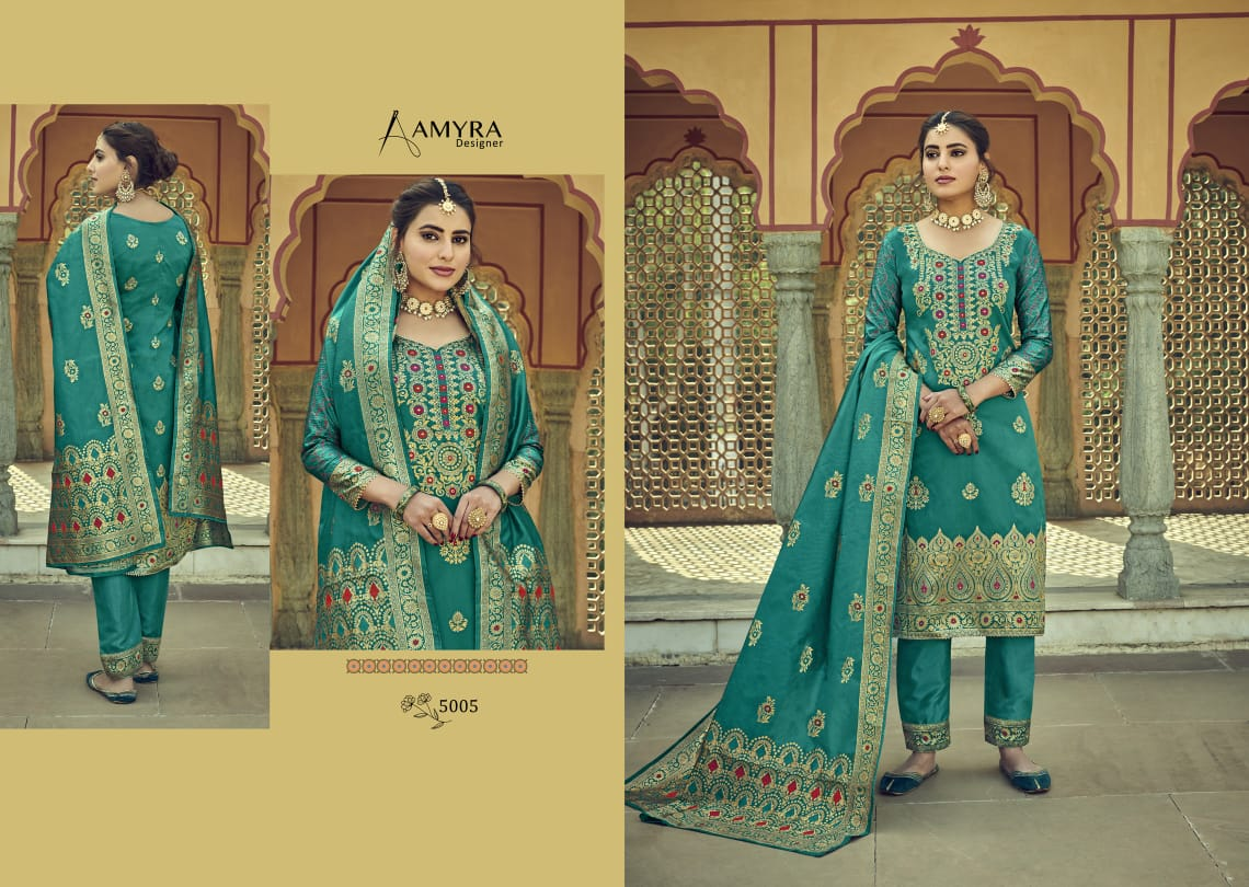 Amyra Designer Libaas Real Georgette collection 9