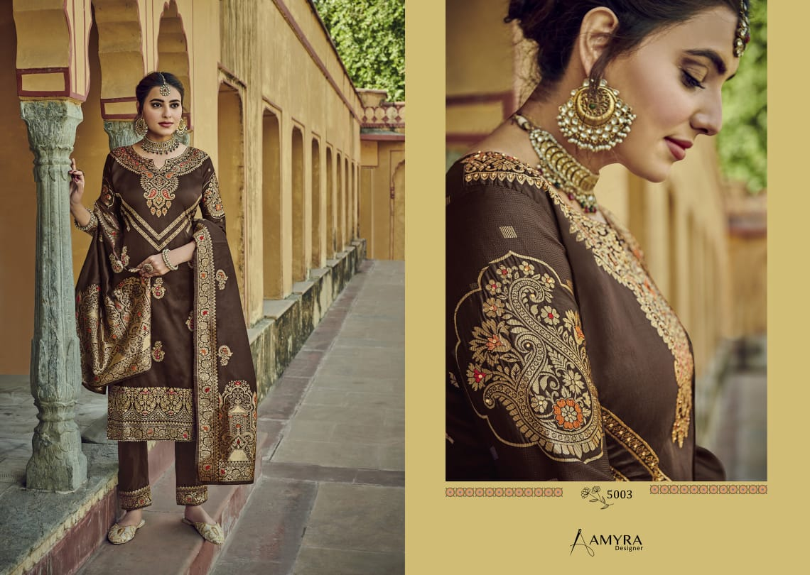 Amyra Designer Libaas Real Georgette collection 6
