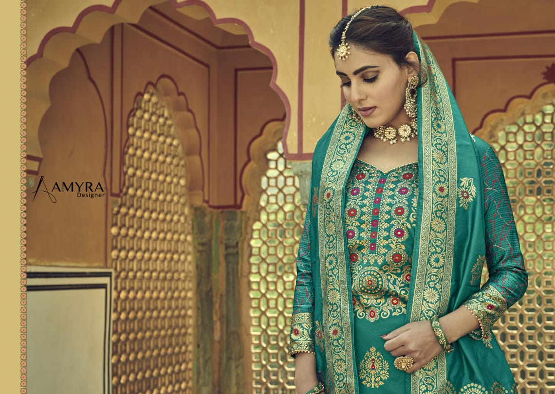 Amyra Designer Libaas Real Georgette collection 10