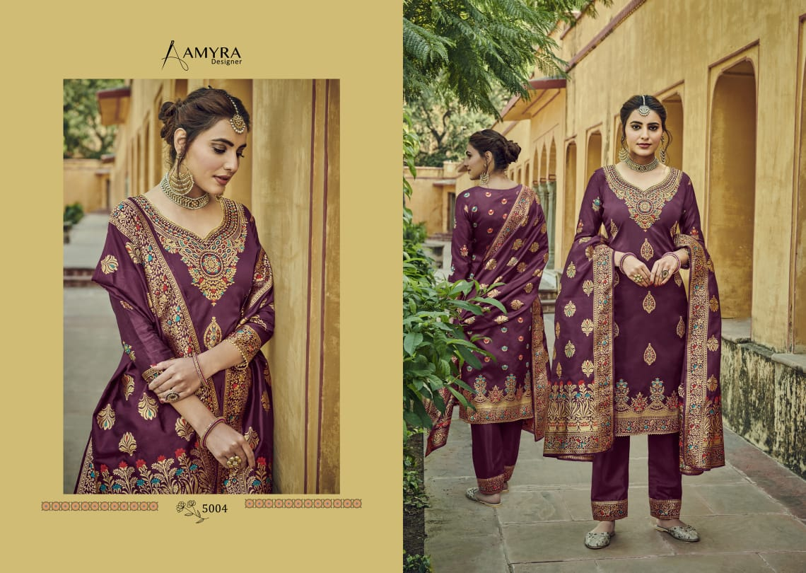 Amyra Designer Libaas Real Georgette collection 7