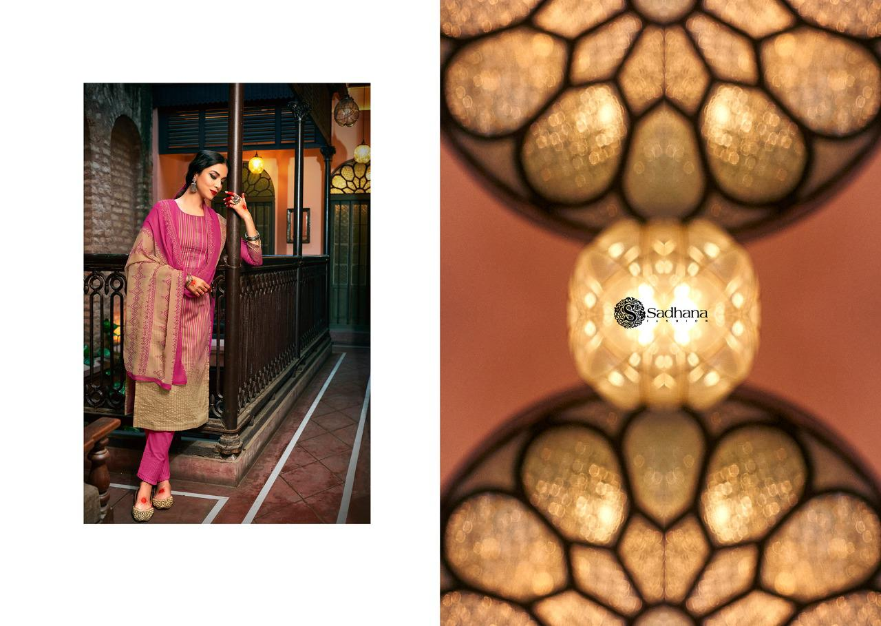 Sadhana Vol 35 With Embroidery Work collection 14