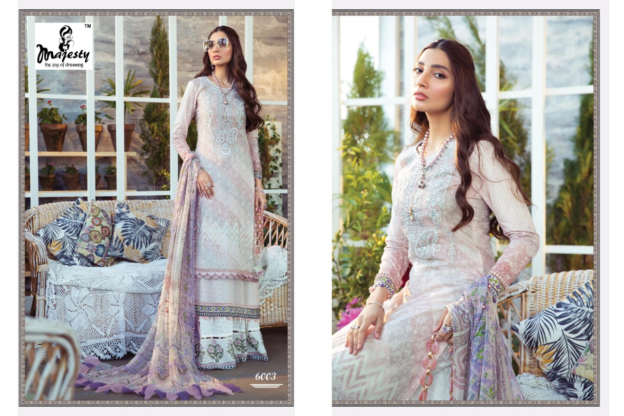 Majesty Maria M Print Vol 6 Lawn collection 2