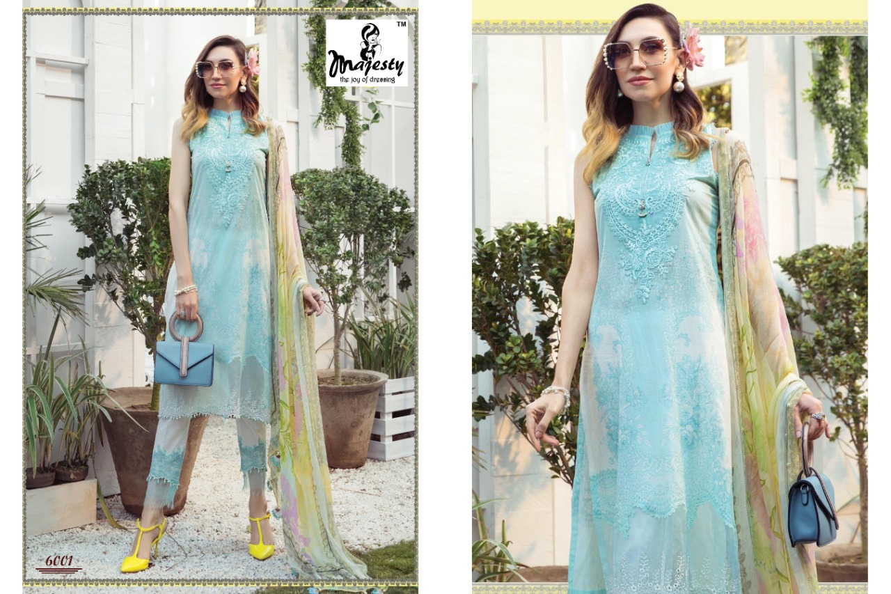 Majesty Maria M Print Vol 6 Lawn collection 9
