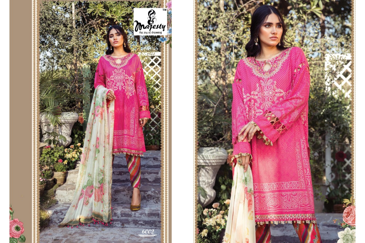 Majesty Maria M Print Vol 6 Lawn collection 4
