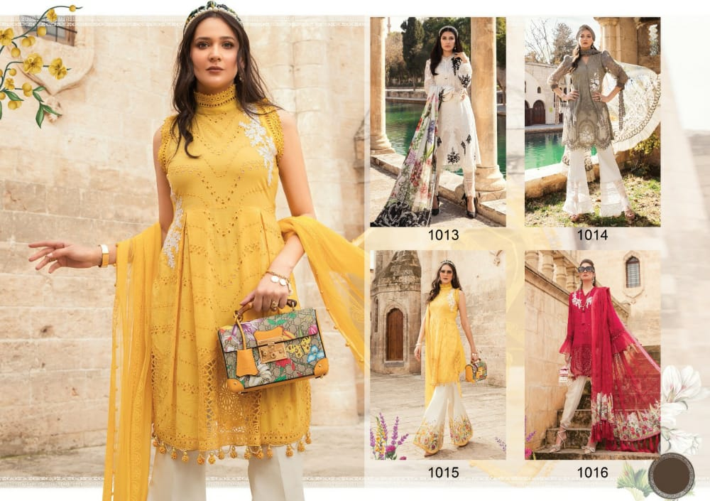 M  Pankanj Fashion Levisha Maria B collection 6