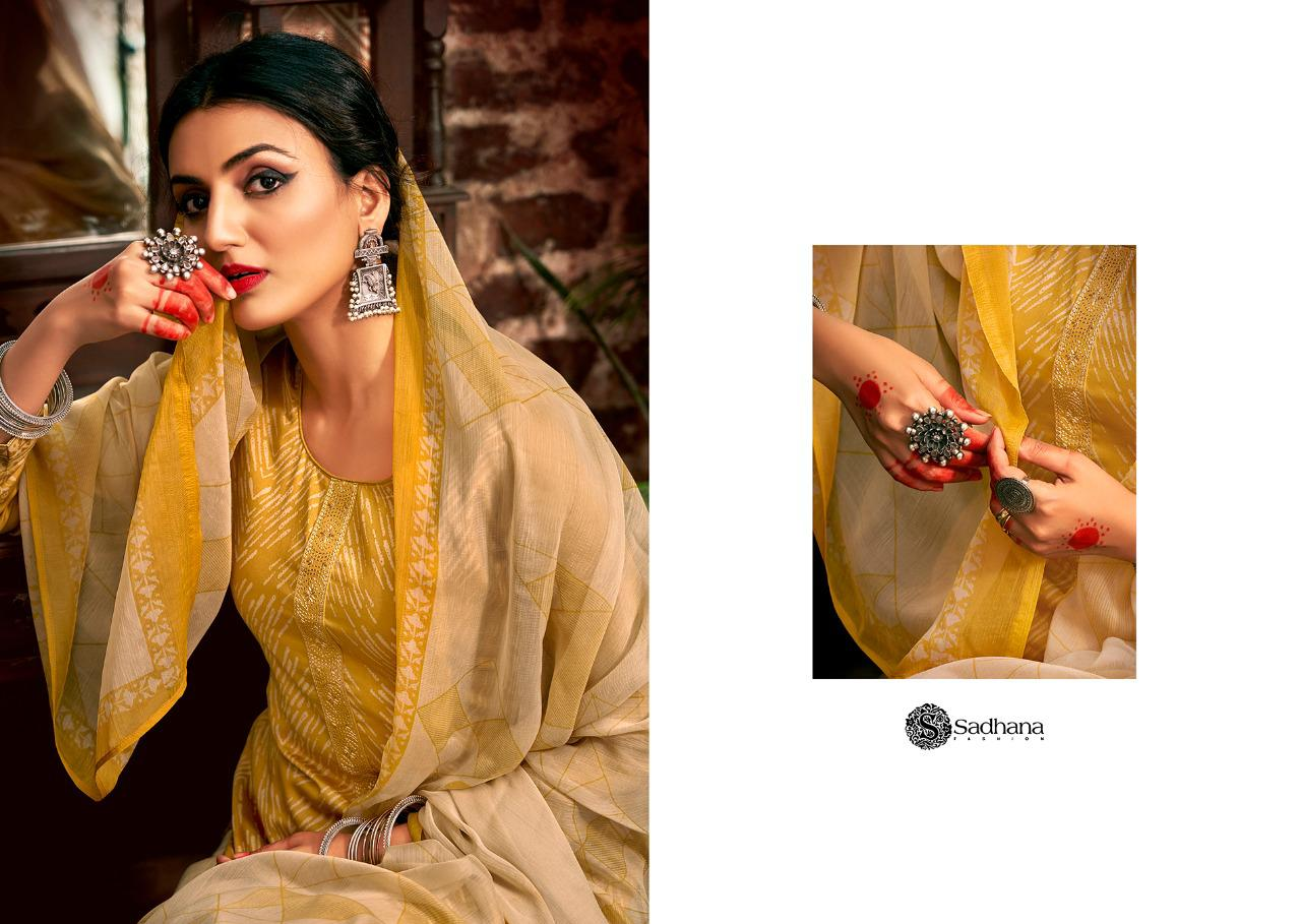 Sadhana Vol 35 With Embroidery Work collection 15