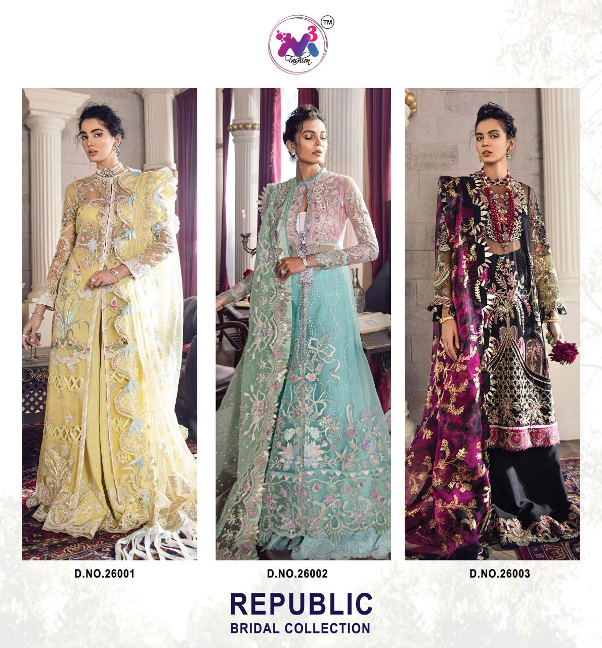 M3 Republic Bridal Coll Pakistani Salwar Suits Collection collection 3
