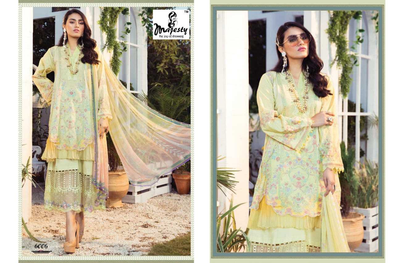 Majesty Maria M Print Vol 6 Lawn collection 6