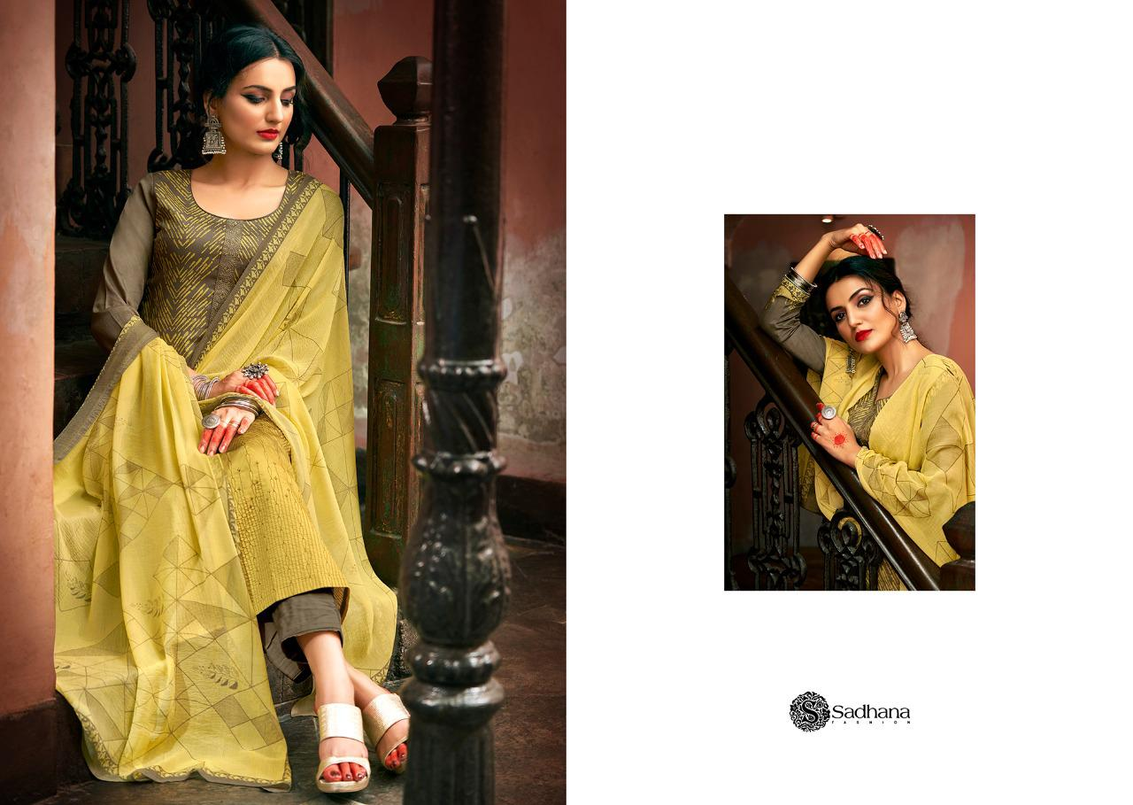 Sadhana Vol 35 With Embroidery Work collection 19