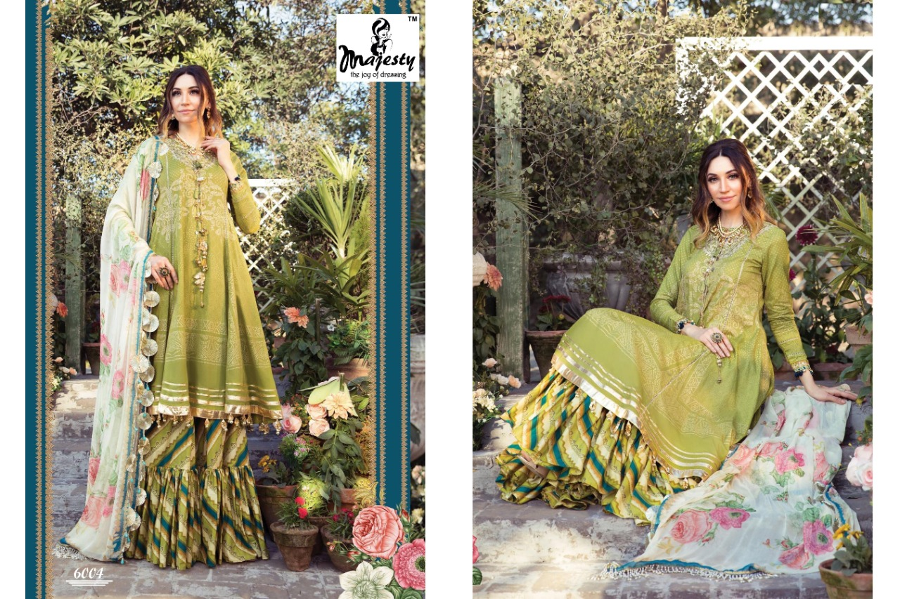 Majesty Maria M Print Vol 6 Lawn collection 1