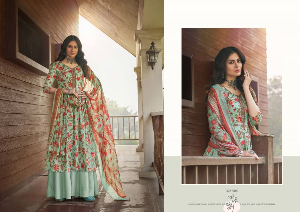 Zulfat Siyahi Exclusive Designer Dress Material Collection collection 3