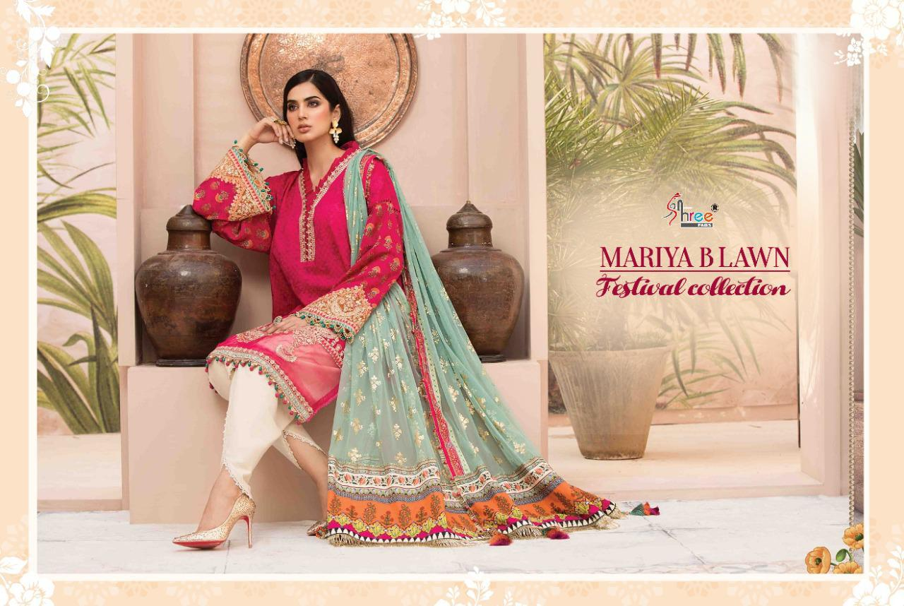 Shree Maria B Lawn Festival Collection collection 3